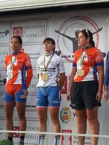podium filles monde